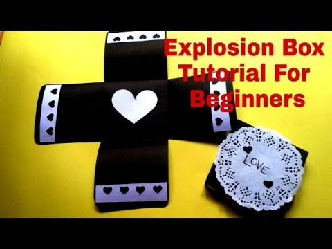 EXPLOSION BOX TUTORIAL/EXPLOSION BOX FOR BIRTHDAY/ANNIVERSARY/EASY TUTORIAL