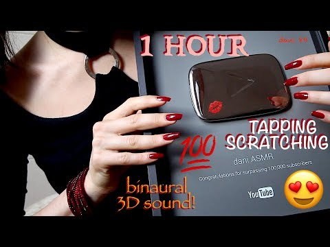 🆕SPECIAL***💋THANK YOU❤️1 HOUR of intense ASMR ✶ Now my SILVER PLAY BUTTON is into my hands! 😍