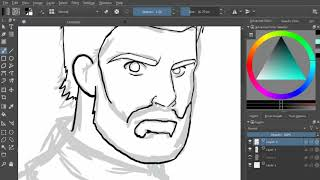 Lets draw: captain america/nomad!