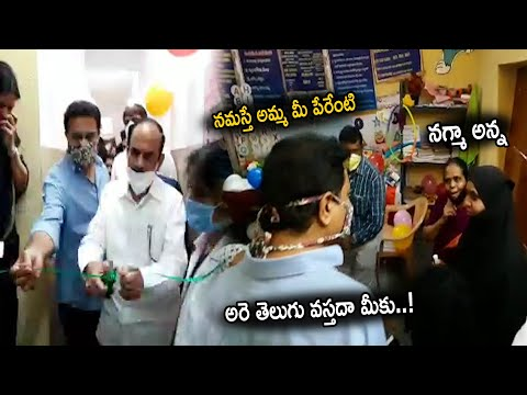Minister KTR at Basthi Davakana Inaguration || Greatness of Minister KTR || Cinema Culture