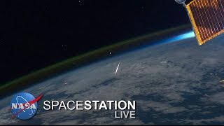 Space Station Live: The Stuff of Meteors