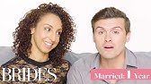 Couples Married for 0-65 Years Answer: When Did You Know You Were In Love?Brides