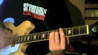 The Receiving End of It All by Streetlight Manifesto guitar cover