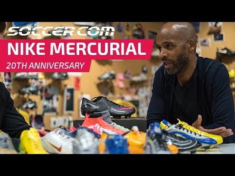 74e6a1e29b0d Nike Mercurial  20 Years of Innovation and Speed - YouTube