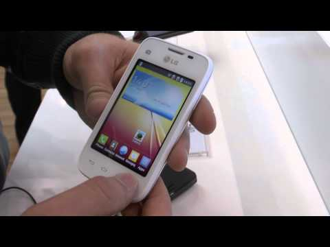 LG L35 Smartphone im Hands-On