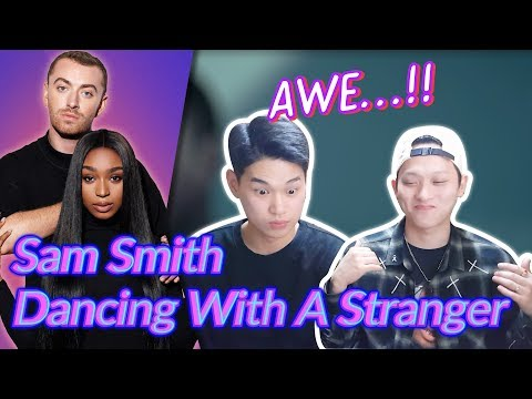 K-pop Artist Reaction Sam Smith Normani - Dancing With A Stranger
