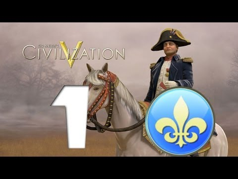 Civilization 5: France (Tourism) - Part 1