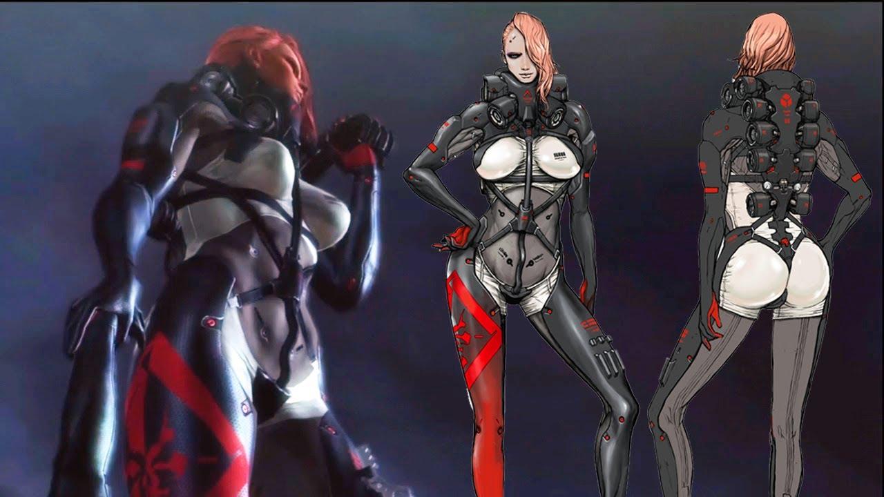 Mistral Vs Raiden Metal Gear Rising Revengeance