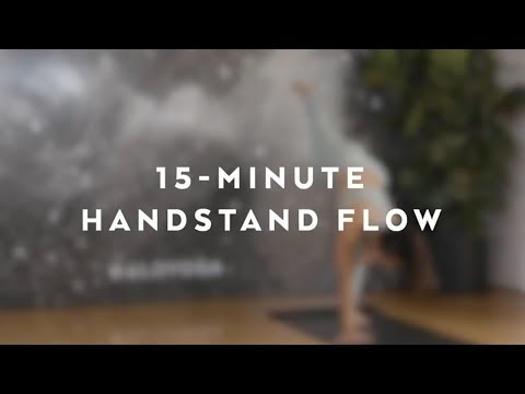15-Minute Handstand Flow With Briohny Smyth