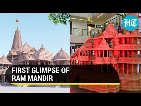 Watch: First visuals of Ram Temple construction in Ayodhya; May open doors before 2024 polls