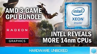 News Corner | More Intel 14nm CPUs, AMD Launches Epic 3-Game GPU Bundle