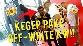 PAKE OFF-WHITE KW 80 RIBUAN KE OFF-WHITE STORE MALAYSIA!! MALU ABIS KEGEP!!