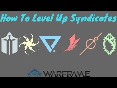 Warframe: How To Level Up Your Syndicate