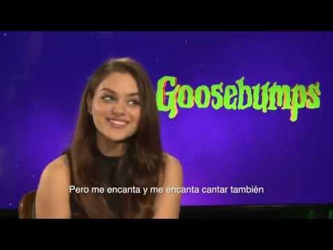 Odeya Rush habla sobre Goosebumps (Escalofríos) con Alex Medela