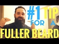 BEST quick and easy tip for a fuller & thicker beard | Tutorial