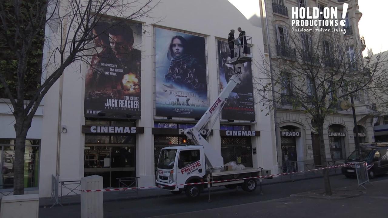 Cin ma le prado marseille installation de 3 cadres pour - Cinema du prado marseille ...