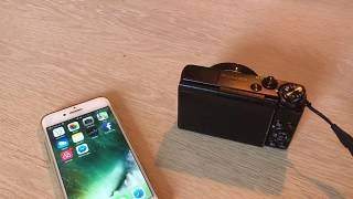 Canon G7X how to transfer videos to phone