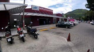 Ciudad de San Marcos y su Mercado Municipal. San salvador EL SALVADOR