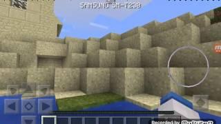 Minecraft pe Bölüm 1 - köyde ev arıyoruz