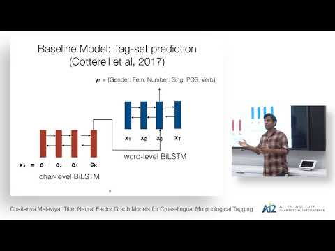 Chaitanya Malaviya: Neural Factor Graph Models for Cross-lingual Morphological Tagging