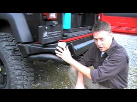 AEV JK Rear Bumper Part 1 (Bumper)