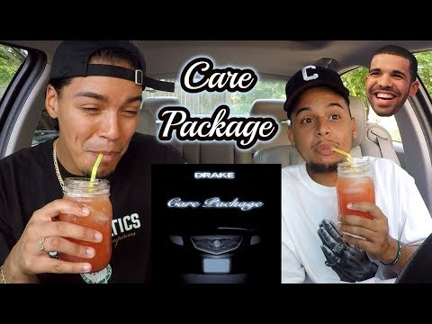 DRAKE - CARE PACKAGE  REACTION REVIEW