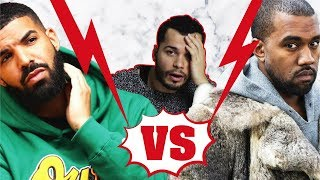 Kanye West & Drake Kavgası! Kim Kardashian, Nicki Minaj, Ariana Grande