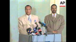 Nation Of Islam Leader Says US Will Attack Iraq