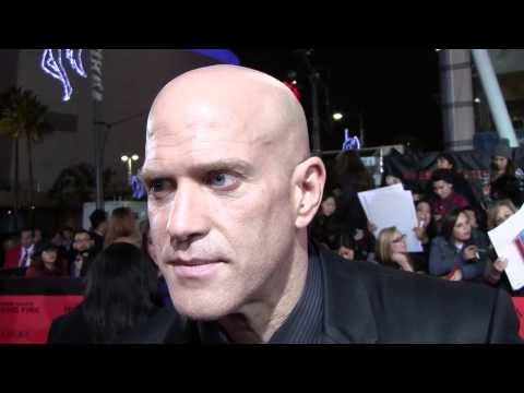 EXCLUSIVE: Bruno Gunn Brutus talks THE HUNGER GAMES: CATCHING FIRE at Los Angeles premiere