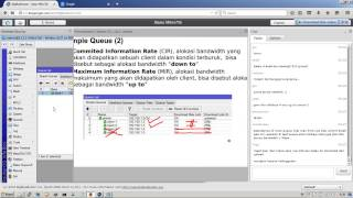 mikrotik training online ilmujaringan 4 QoS (simple)
