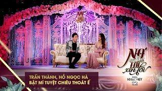 Trấn Thành, Hồ Ngọc Hà bật mí tuyệt chiêu thoát ế | Gala Nhạc Việt 12 (Official)