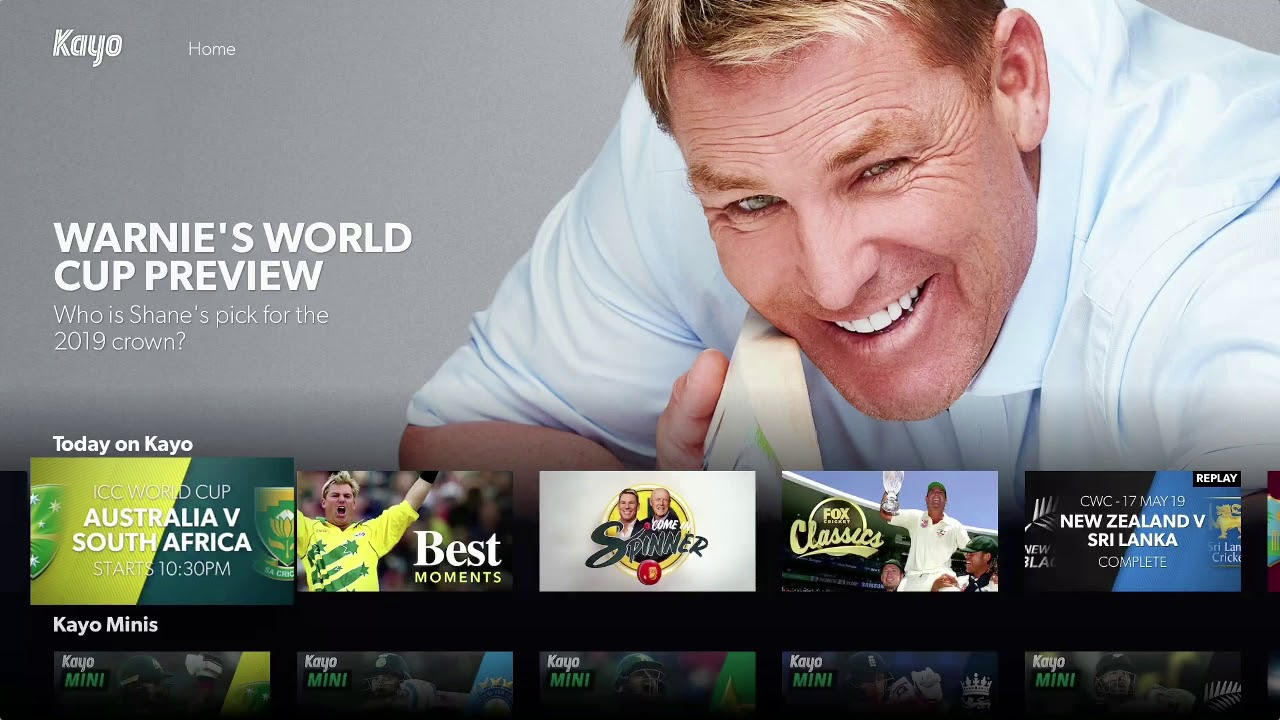 ICC Cricket World Cup 2019 – Kayo Sports Shane Warne TVC