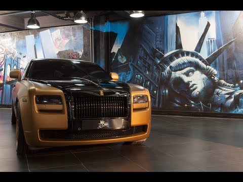 Rolls Royce Ghost Gold Edition by MS Motors