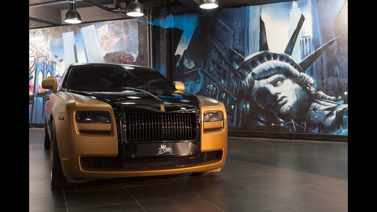 rolls royce ghost gold edition by ms motors youtube. Black Bedroom Furniture Sets. Home Design Ideas