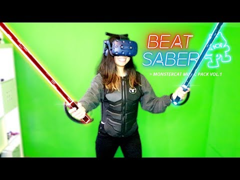 All Beat Saber Monstercat DLC Songs On EXPERT With A Haptic Suit! Mp3