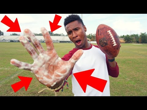 THIS IS HOW NFL PLAYERS GET SO GOOD AT CATCHING!