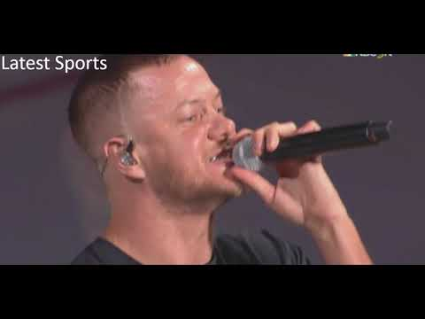 Imagine Dragons performs