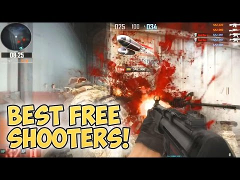 Top 5 Free to Play FPS Games 2015-2016!