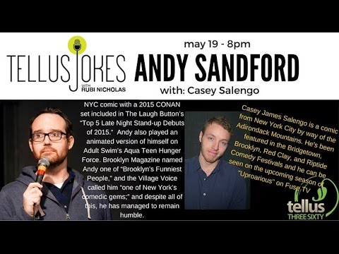 Tellus Jokes - Andy Sandford & Casey James Salengo (May 19, 2016)