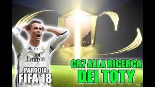 CR7 alla RICERCA dei TOTY  Spacchettamento Parodia FIFA 18 