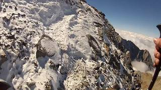 Mont Blanc 2014 - Querung Grand Couloir