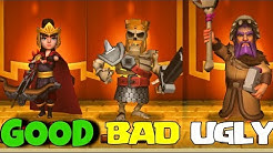 TOP 10 BEST & WORST SKINS in CLASH OF CLANS!!