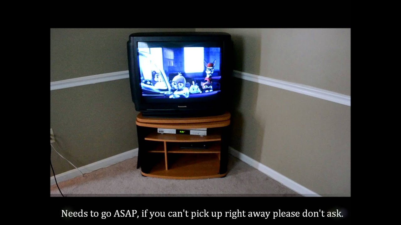 free panasonic 32 crt tv wash dc craigslist youtube. Black Bedroom Furniture Sets. Home Design Ideas