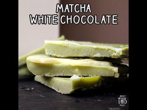 White Chocolate Matcha Bar