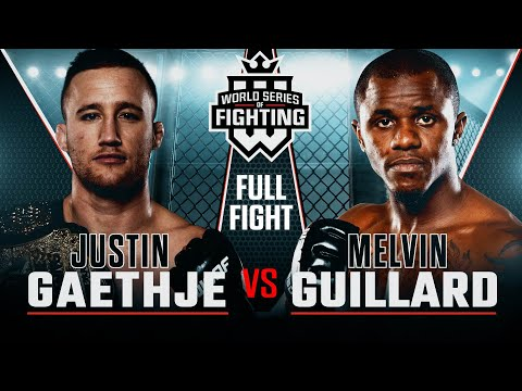 Full Fight | Justin Gaethje vs Melvin Guillard | WSOF 15, 2014