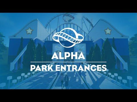 Planet Coaster Park Entrances
