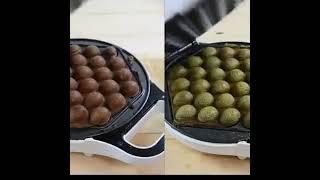 Mifanours 가정용 와플전기팬 미니 케이크 오븐 …