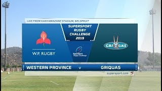 SuperSport Rugby Challenge | Western Province vs Griquas | Semifinal