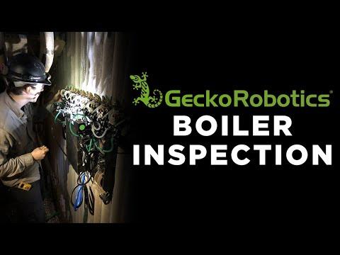 Gecko Robotics - Boiler Inspection - YouTube