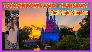 🔴LIVE.TomorrowlandThursday|Magic Kingdom|TTA|Haunted Mansion